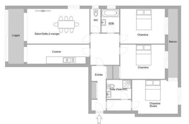 Appartement à vendre 4 92.2m2 à Cannes vignette-15