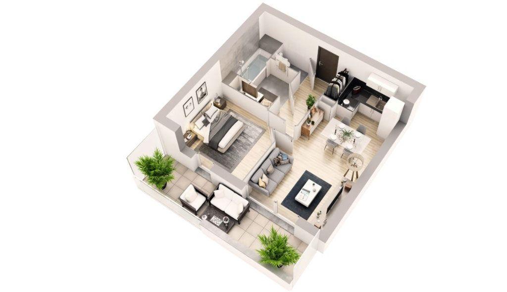 Appartement à vendre 2 42.8m2 à Berck vignette-2