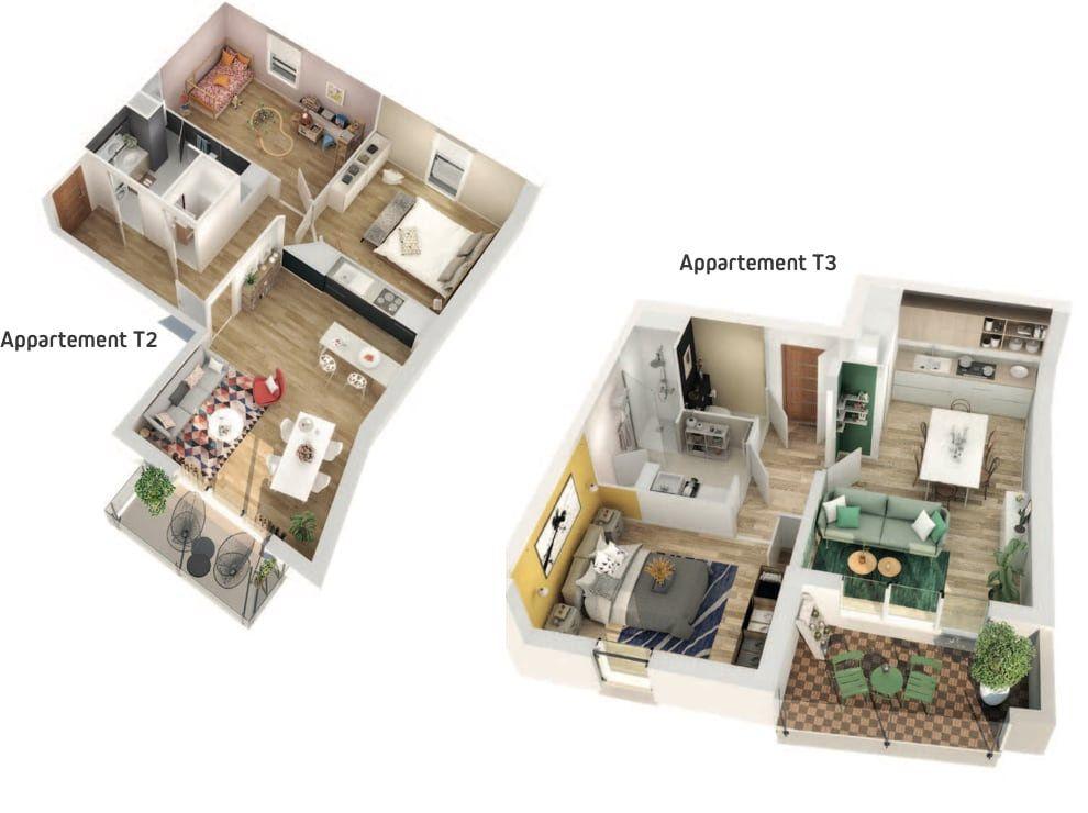 Appartement à vendre 3 61.9m2 à Berck vignette-4