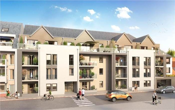 Appartement à vendre 3 75.5m2 à Berck vignette-1