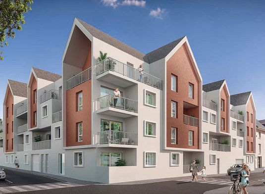 Appartement à vendre 2 40.55m2 à Berck vignette-1