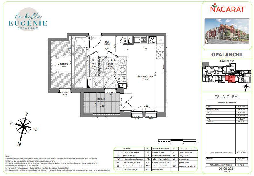 Appartement à vendre 2 41m2 à Berck vignette-2