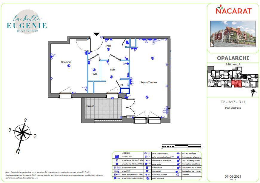 Appartement à vendre 2 41m2 à Berck vignette-3