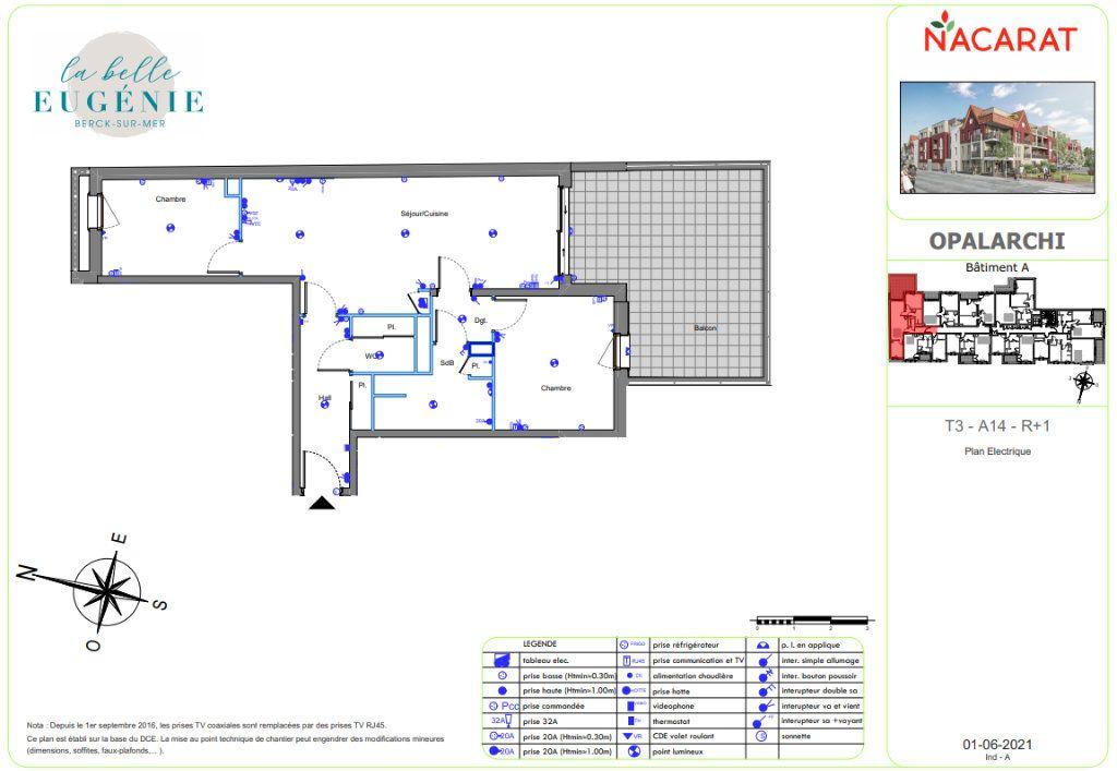 Appartement à vendre 3 66.7m2 à Berck vignette-3