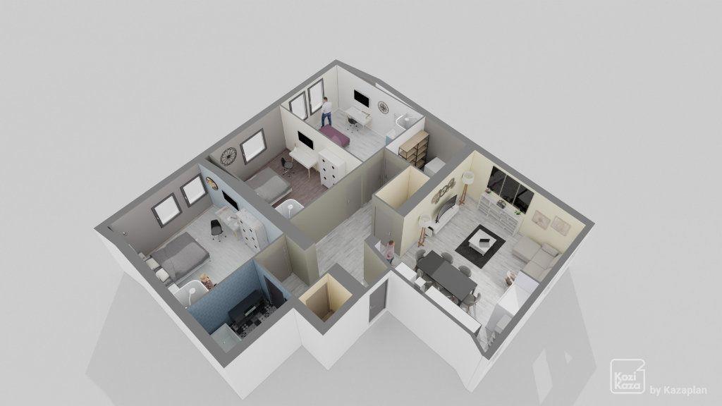Appartement à vendre 4 106m2 à Hayange vignette-8