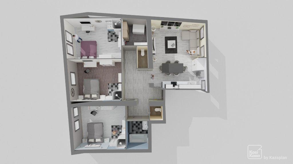 Appartement à vendre 4 106m2 à Hayange vignette-10