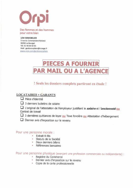 Appartement à louer 2 26m2 à Le Bourget vignette-2