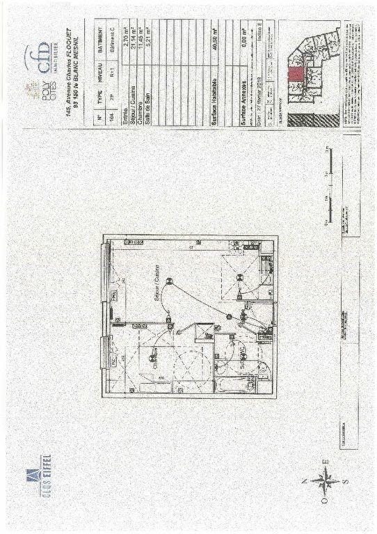 Appartement à louer 2 40.5m2 à Le Blanc-Mesnil vignette-2