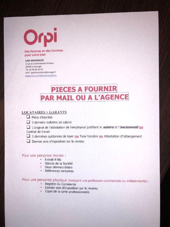 Appartement à louer 1 21m2 à Le Blanc-Mesnil vignette-2