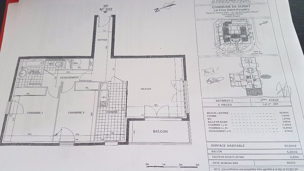 Appartement à louer 3 66m2 à Dugny vignette-2