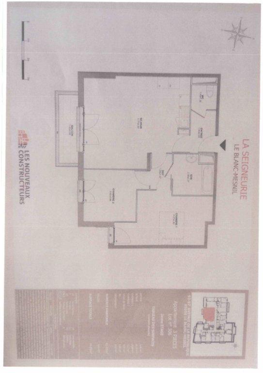 Appartement à louer 3 65m2 à Le Blanc-Mesnil vignette-2