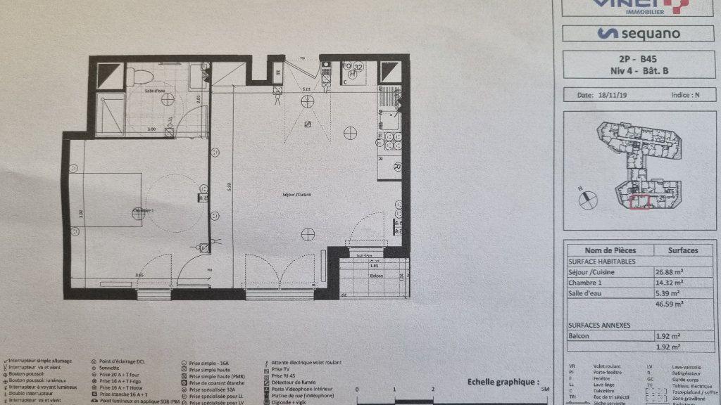 Appartement à louer 2 47m2 à Drancy vignette-4