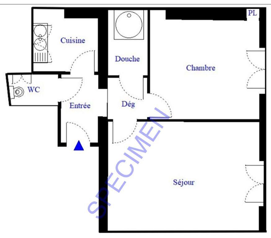 Appartement à vendre 2 29.18m2 à Paris 18 vignette-9