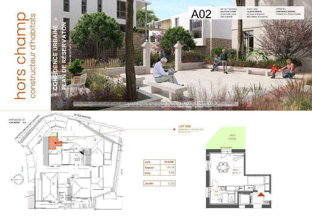 Appartement à vendre 1 35.02m2 à Avignon vignette-1