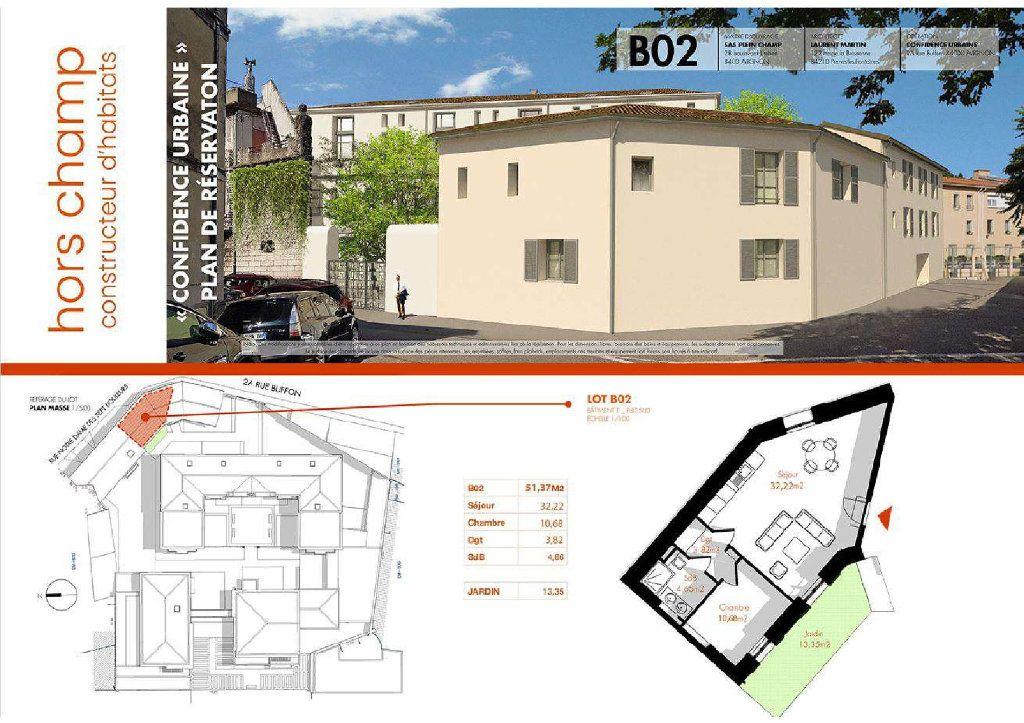 Appartement à vendre 2 51.37m2 à Avignon vignette-1