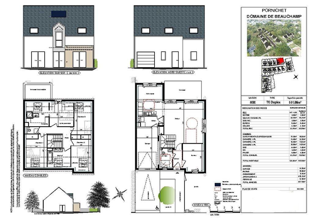 Maison à vendre 6 126m2 à Pornichet vignette-3