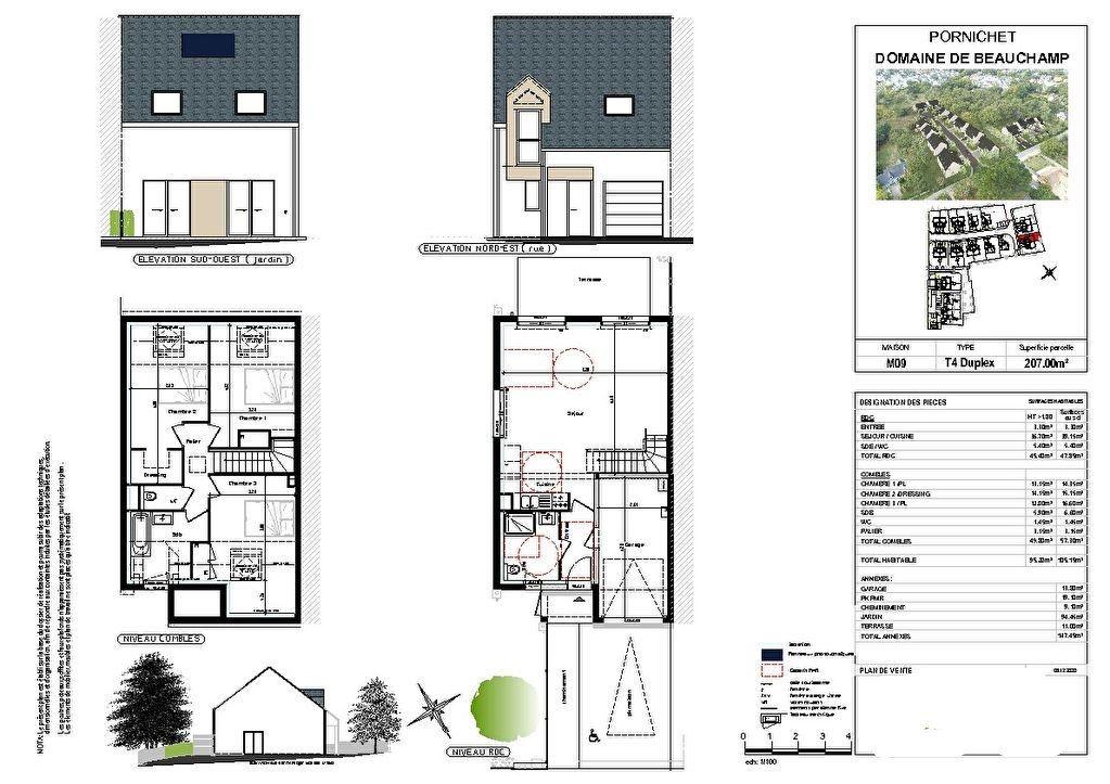 Maison à vendre 4 95m2 à Pornichet vignette-3