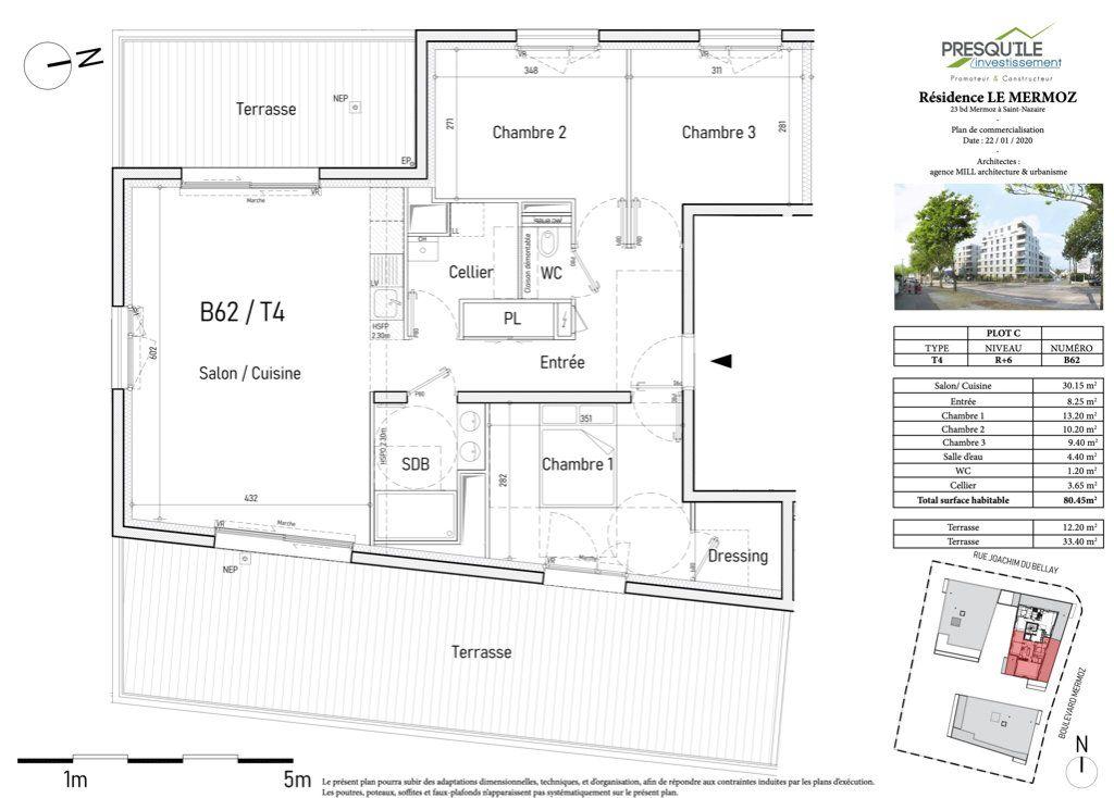 Appartement à vendre 4 80.45m2 à Saint-Nazaire vignette-2
