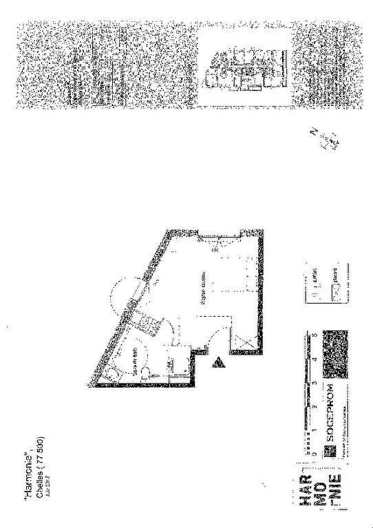 Appartement à louer 27.4m2 à Chelles