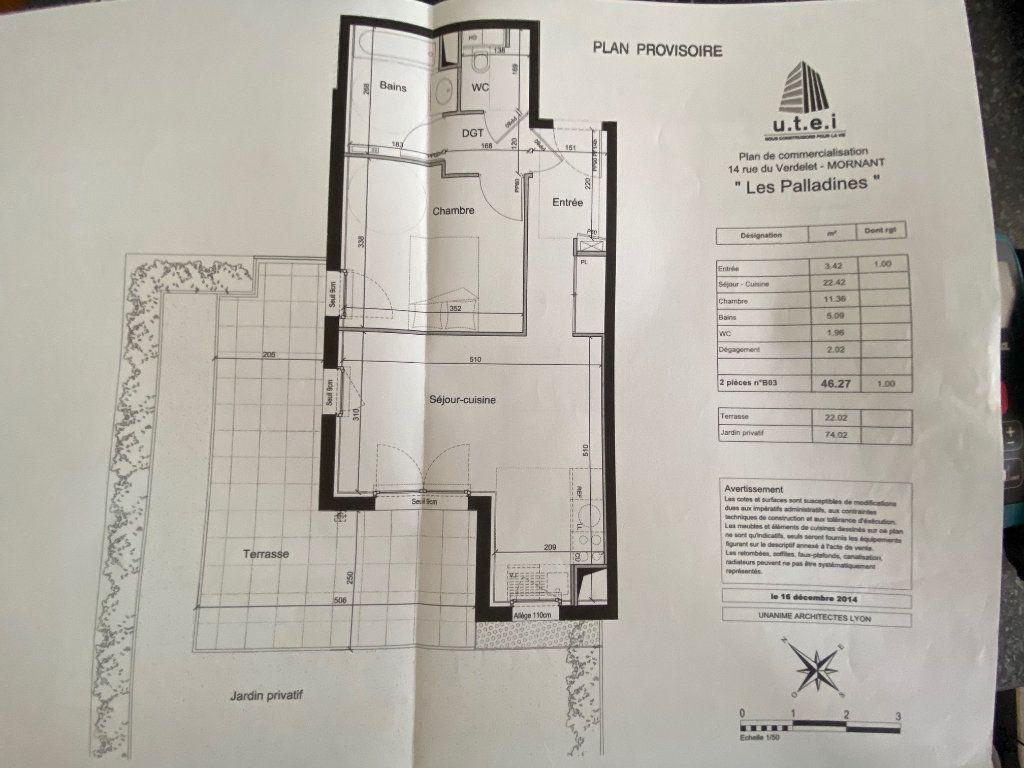 Appartement à vendre 2 46.24m2 à Mornant vignette-9