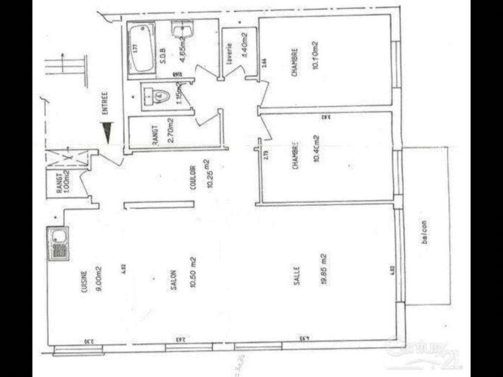 Appartement à vendre 4 80m2 à Le Havre plan-1