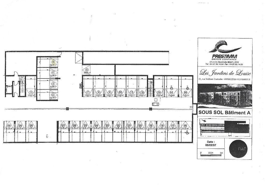 Stationnement à vendre 0 13m2 à Vénissieux plan-1