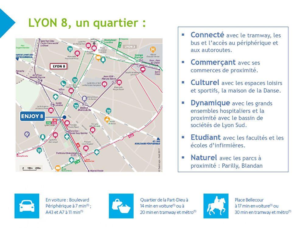 Appartement à vendre 3 60.1m2 à Lyon 8 vignette-3