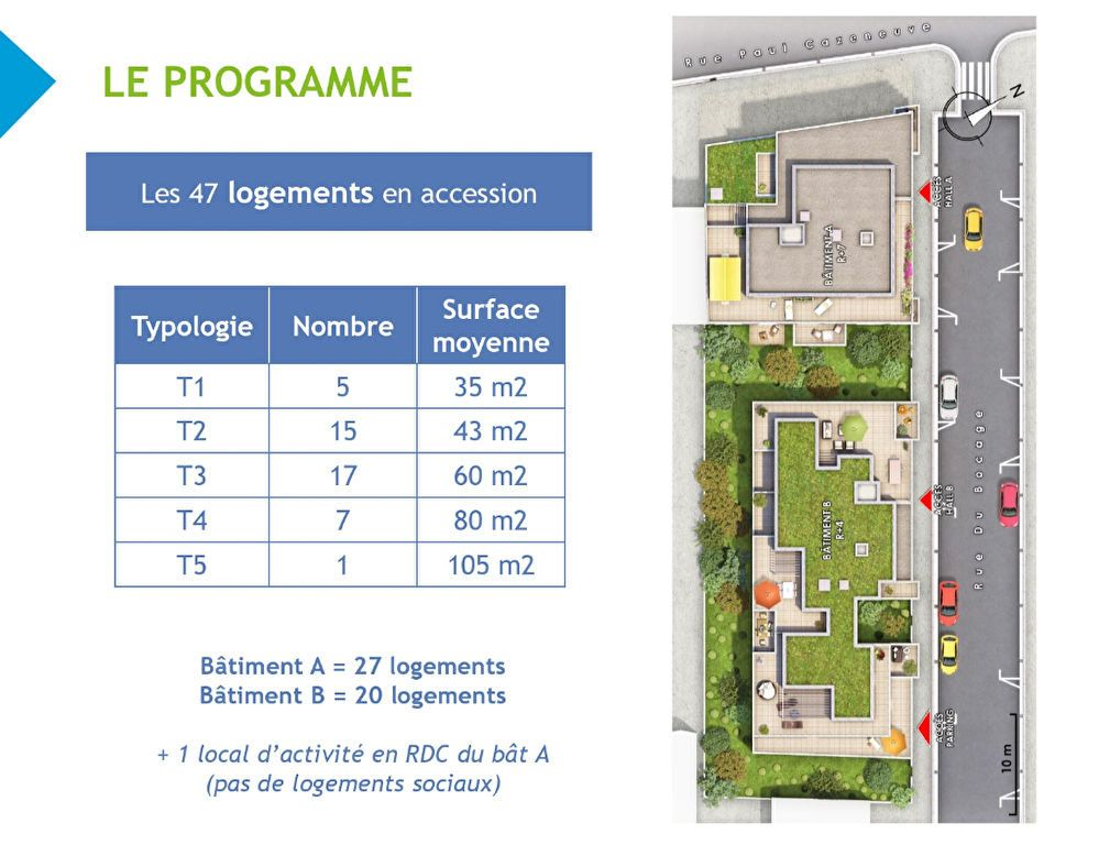 Appartement à vendre 3 60.1m2 à Lyon 8 vignette-8