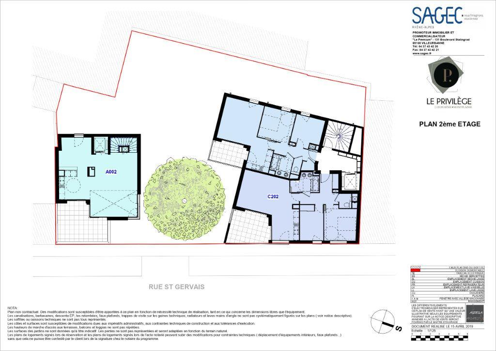 Appartement à vendre 3 59.76m2 à Lyon 8 vignette-2