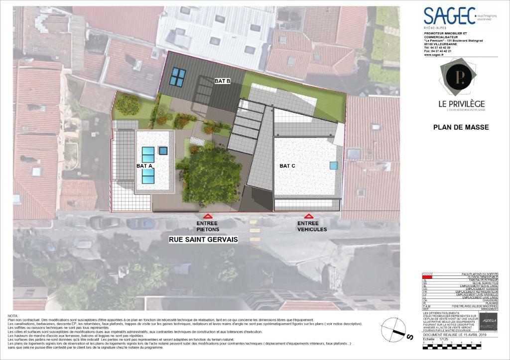 Appartement à vendre 3 59.76m2 à Lyon 8 vignette-3