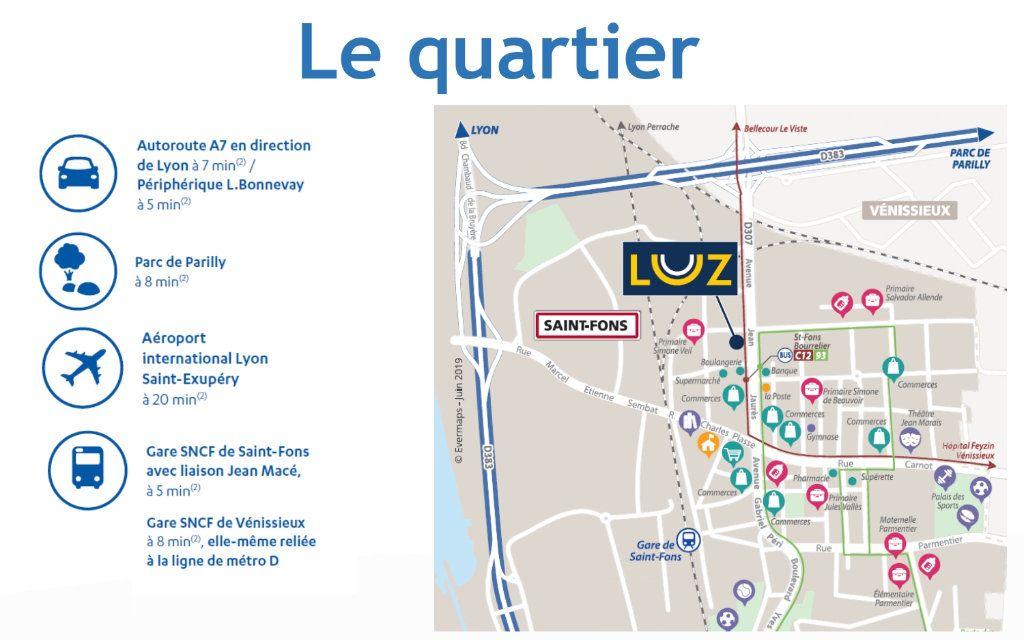 Appartement à vendre 3 62.61m2 à Saint-Fons vignette-2