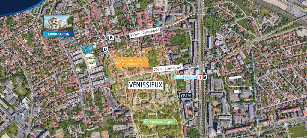 Appartement à vendre 2 42.4m2 à Vénissieux vignette-2