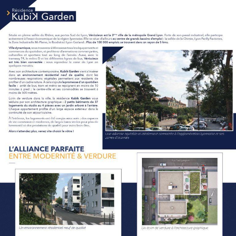 Appartement à vendre 2 42.4m2 à Vénissieux vignette-3