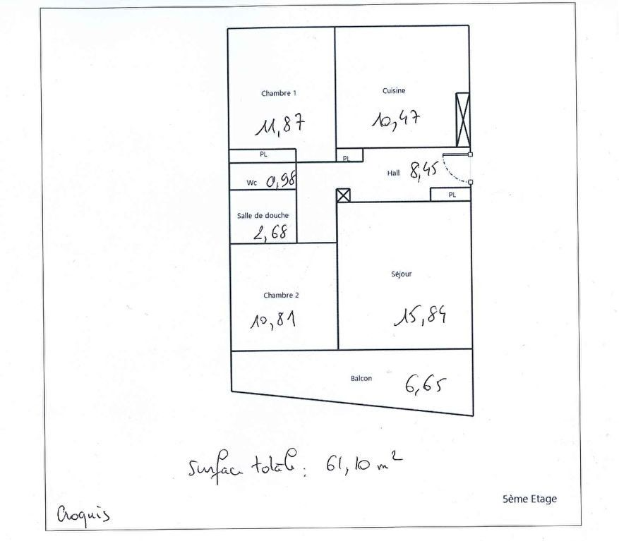 Appartement à vendre 3 61.1m2 à Lyon 8 vignette-11