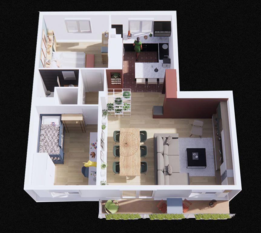Appartement à vendre 4 64m2 à Vénissieux vignette-2