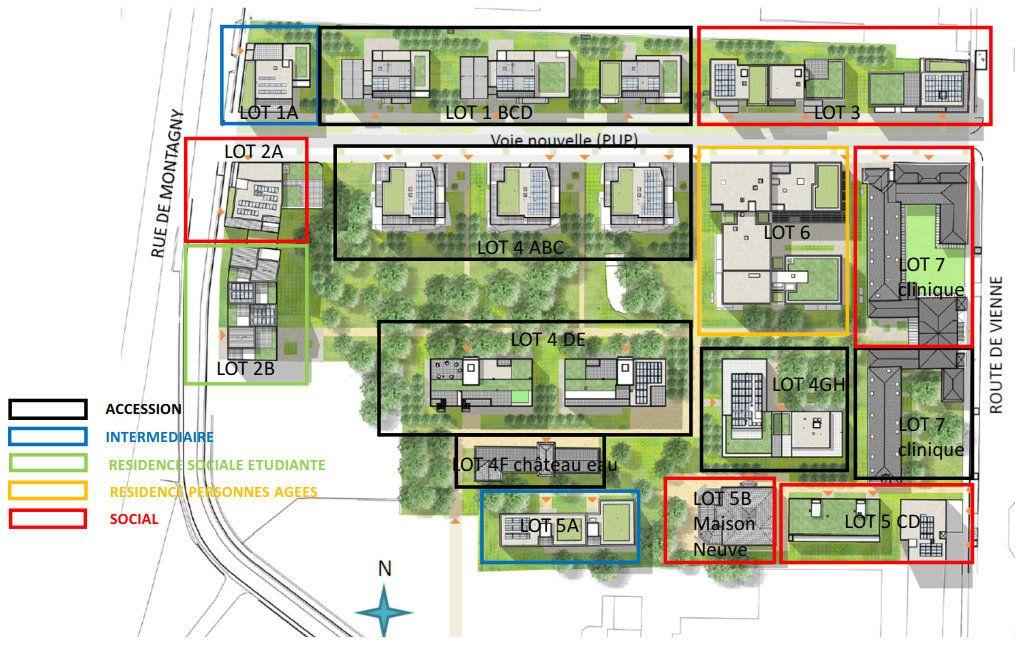Appartement à vendre 3 61.65m2 à Lyon 8 vignette-13