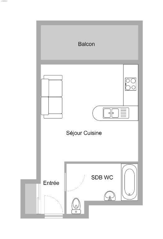 Appartement à vendre 1 27.7m2 à Villeneuve-Loubet vignette-15