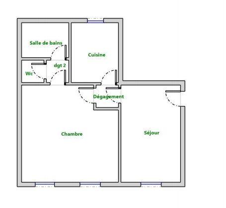 Appartement à vendre 2 36m2 à Versailles vignette-4