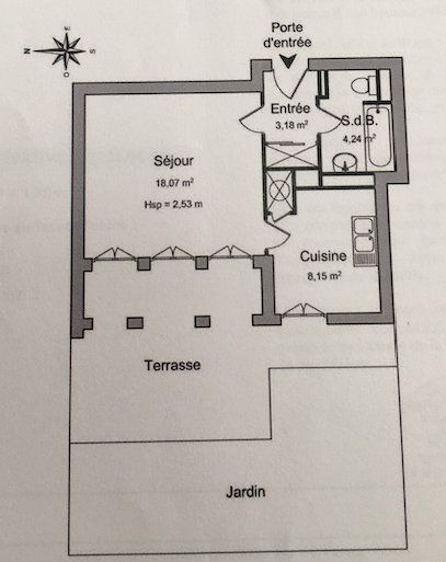 Appartement à louer 1 33.65m2 à Le Plessis-Robinson vignette-6
