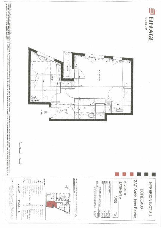 Appartement à louer 2 45.65m2 à Bordeaux vignette-2