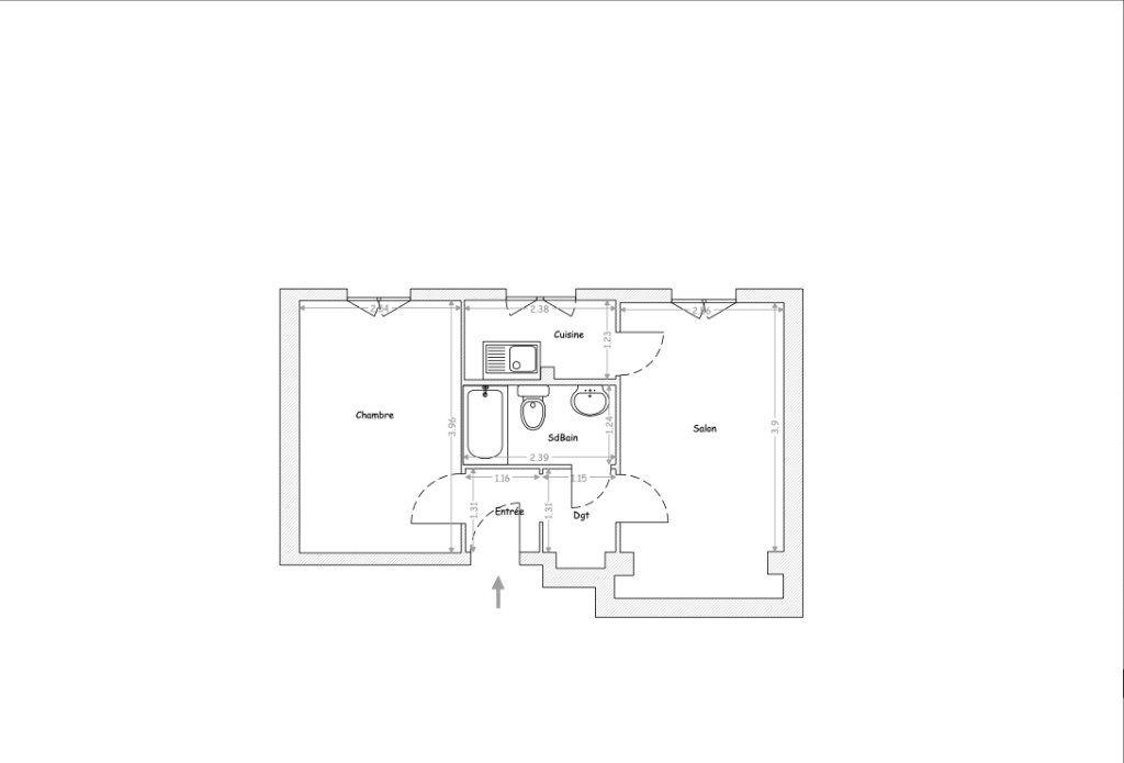 Appartement à vendre 2 31m2 à Boulogne-Billancourt vignette-7