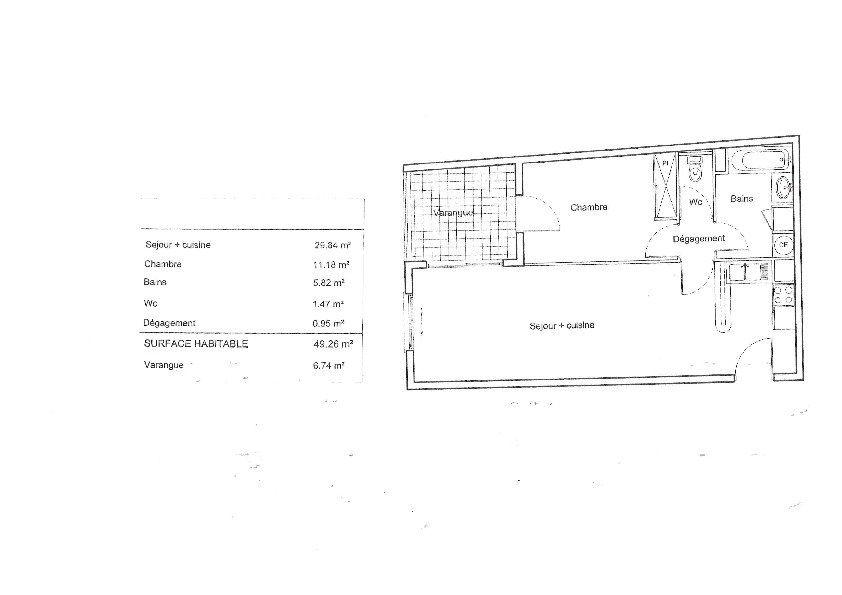 Appartement à vendre 2 49m2 à Saint-Denis vignette-2
