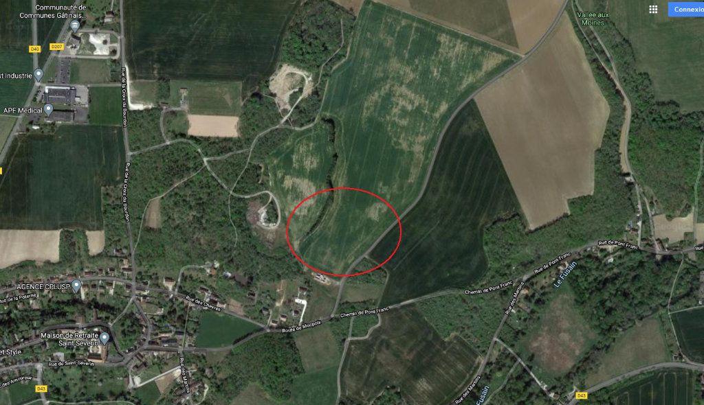 Terrain à vendre 0 1395m2 à Château-Landon vignette-3