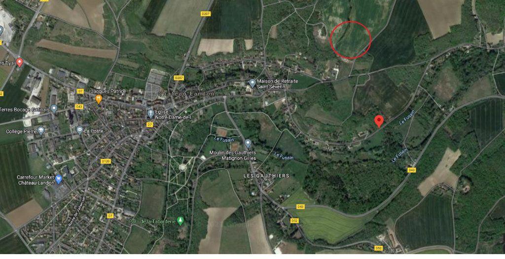 Terrain à vendre 0 1395m2 à Château-Landon vignette-4