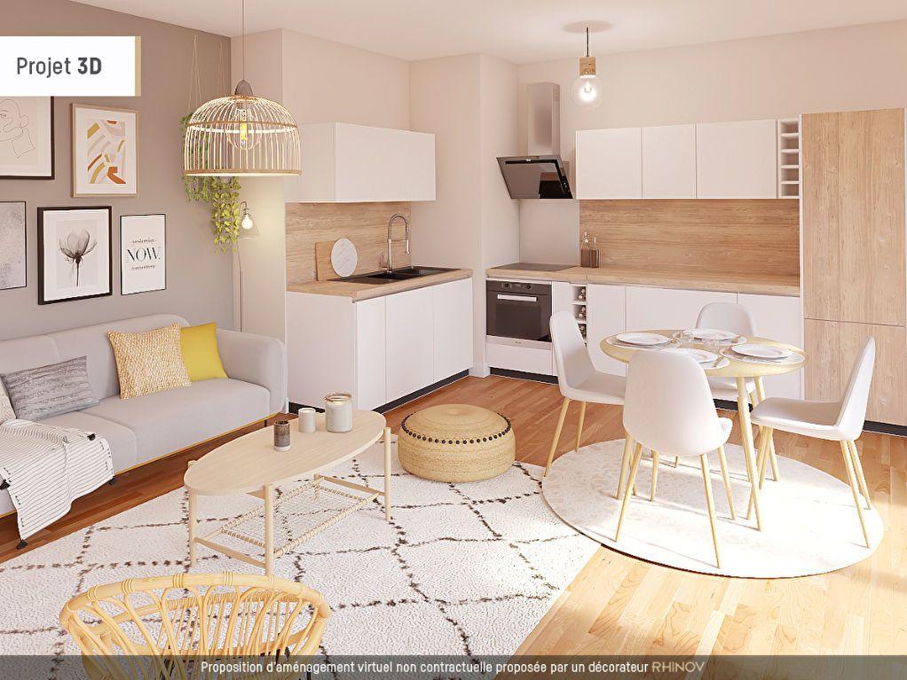 Appartement à vendre 2 41m2 à Montfavet - Avignon vignette-3