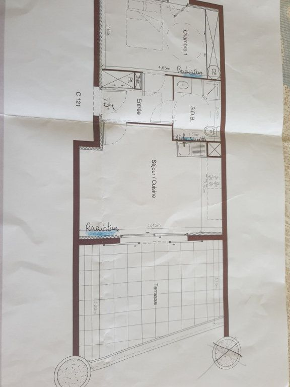 Appartement à vendre 2 41m2 à Montfavet - Avignon vignette-5