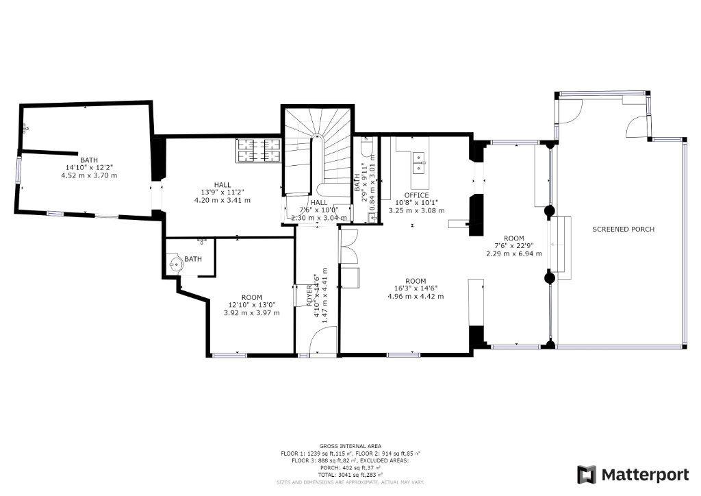 Maison à vendre 15 351m2 à Antibes plan-1