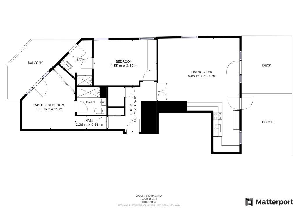 Appartement à vendre 3 83m2 à Juan-les-Pins - Antibes plan-1