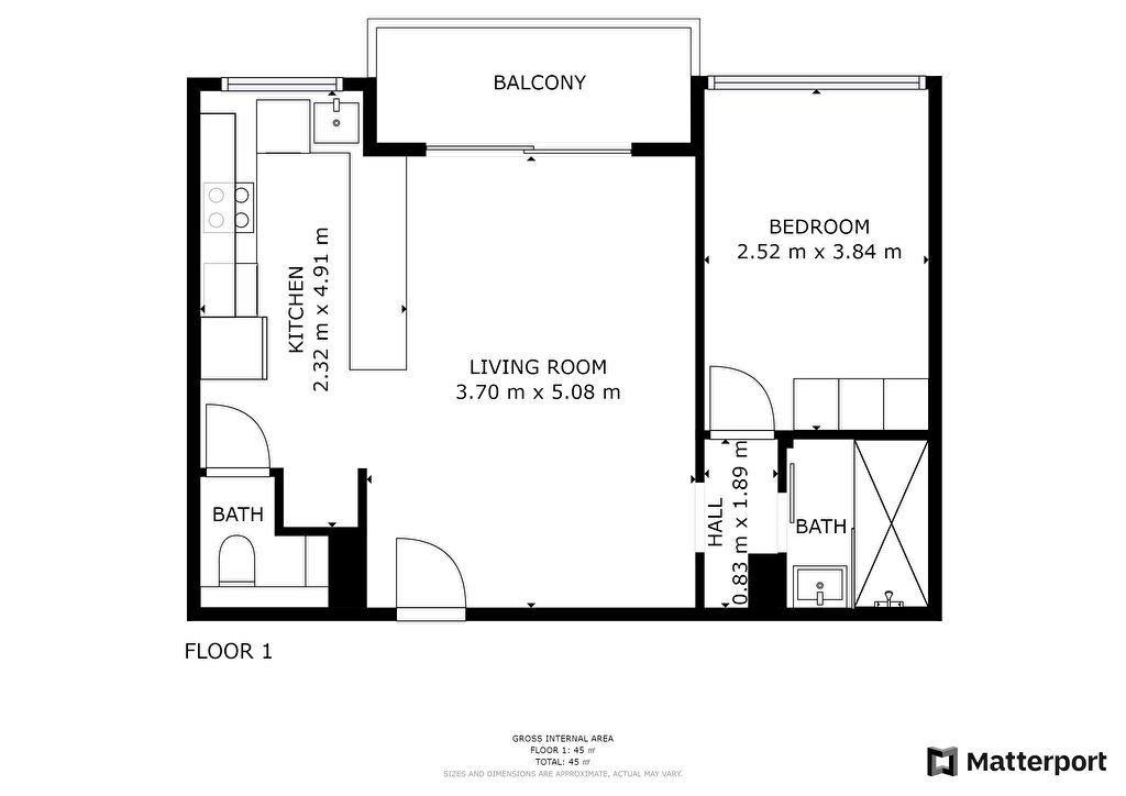 Appartement à vendre 2 42.44m2 à Juan-les-Pins - Antibes vignette-8