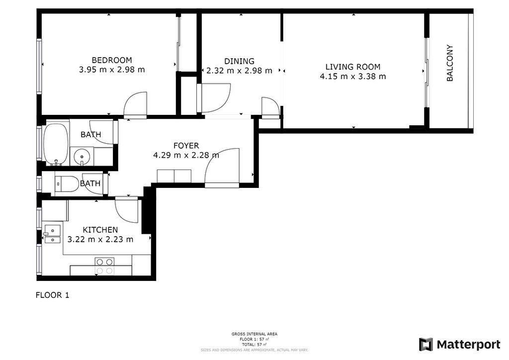 Appartement à vendre 2 54.21m2 à Antibes vignette-6
